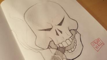 Skull_calebhallart