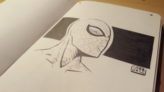 Spiderman_calebhallart